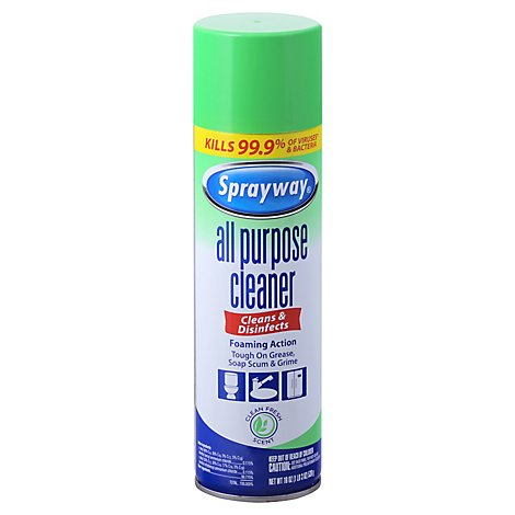 Sprayway Foaming All Purpose Cleaner - 19 Oz