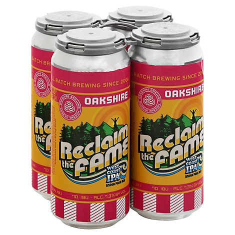 Oakshire Reclaim The Fame West Coast Ipa In Cans - 4-16 Fl. Oz.