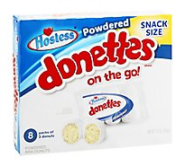 Hostess Powdered Donettes Multi Pack - 12 Oz