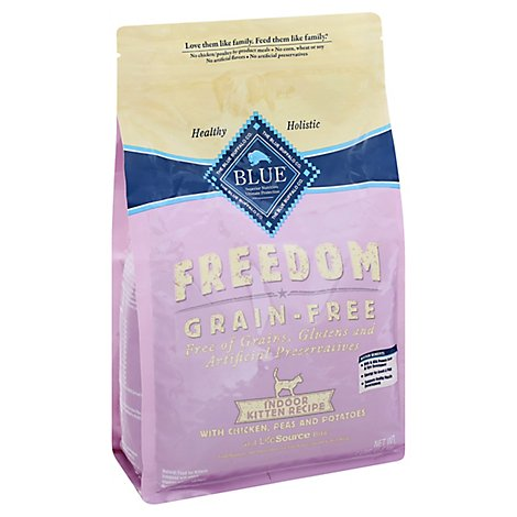 Blue Buffalo Freedom Chicken Indoor Kitten Food - 4 Lb