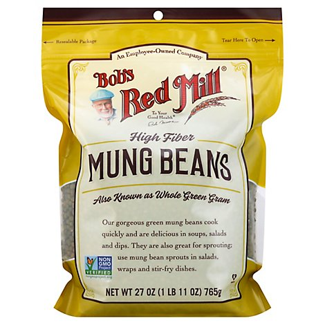 Bobs Red Mill Beans Mung - 27 Oz