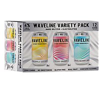 Waveline Variety Pack In Cans - 12-12 Fl. Oz.