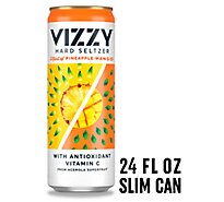 Vizzy Seltzer Hard Pinneapple Mango 5% ABV Can - 24 Fl. Oz.