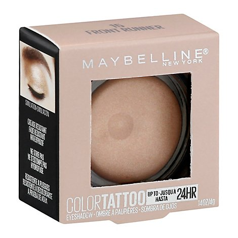 Maybelline Color Tattoo Eyeshadow Front Runner - 0.14 Oz
