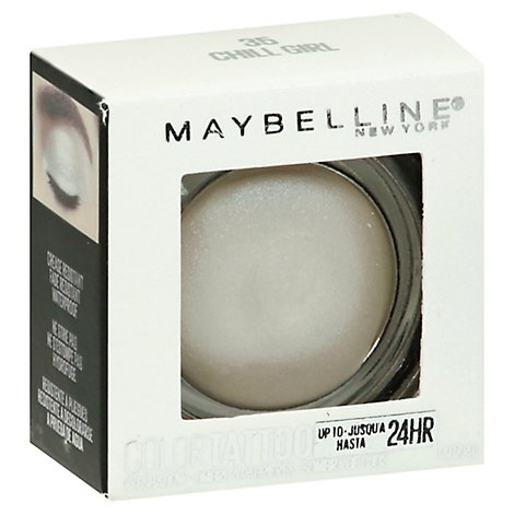 Maybelline Color Tattoo Eyeshadow Chill Girl - 0.14 Oz