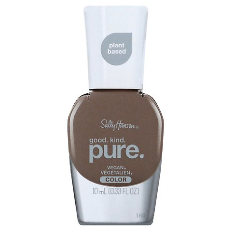 Sally Hansen Good Kind Pure Nail Color Raw Cocoa - 0.33 Fl. Oz.