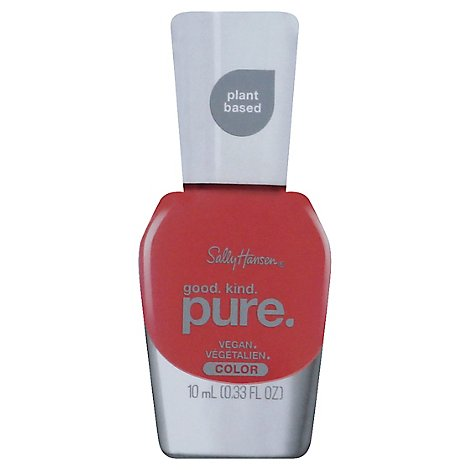 Sally Hansen Good Kind Pure Nail Color Coral Calm - 0.33 Fl. Oz.