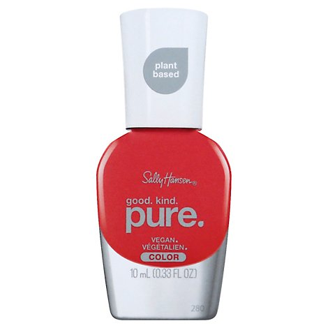 Sally Hansen Good Kind Pure Nail Color Fruity Papaya - 0.33 Fl. Oz.