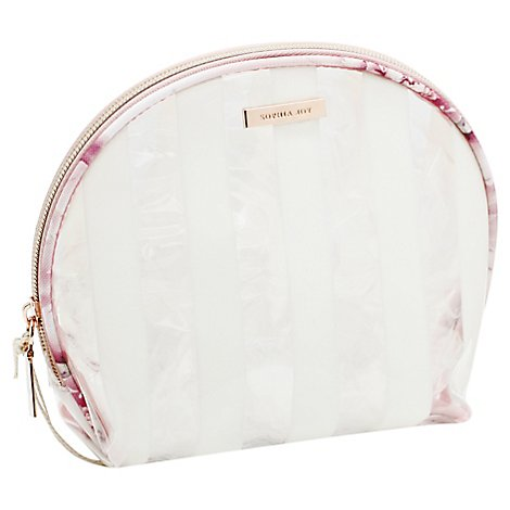 Allegro Sophia Joy Cosmetic Bag Round Top Floral - Each