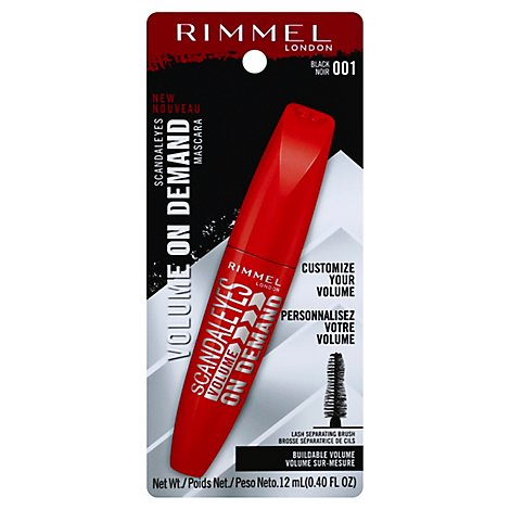 Rimmel Scandaleyes Vol On Dmd Masc Bl - 0.4 Fl. Oz.