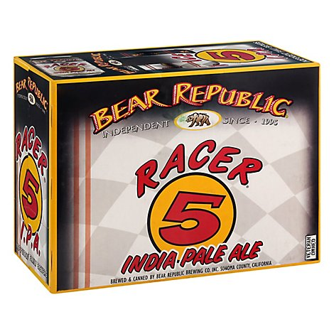 Bear Republic Racer 5 Ipa In Cans - 12-12 Fl. Oz.