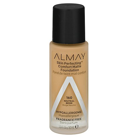 Almay Skin Perfecting Foundation Comfort Matte Natural Beige - 1 Oz