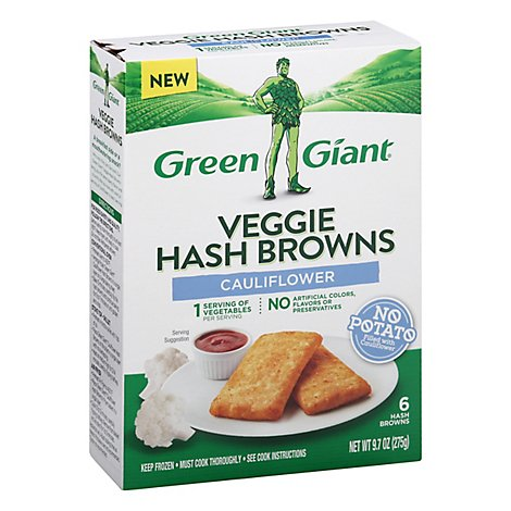 Green Giant Cauliflower Hash Browns - 9.7 Oz