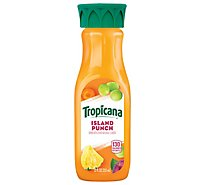 Tropicana Premium Drink Island Punch - 12 Fl. Oz.