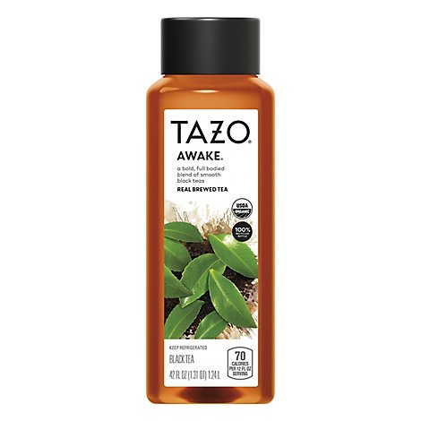 Tazo Organic Black Awake Tea - 42 Fl. Oz.