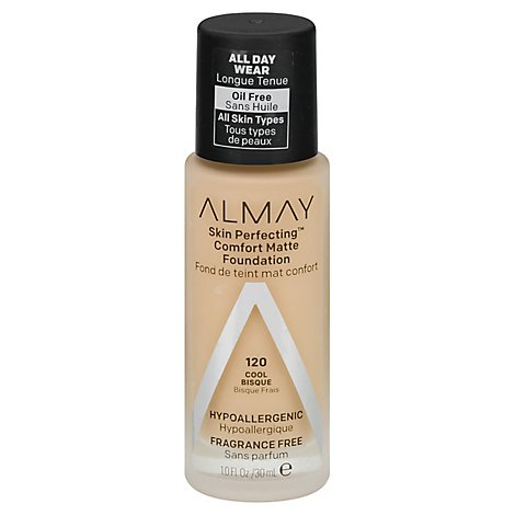 Almay Skin Perfecting Foundation Comfort Matte Cool Bisque - 1 Fl. Oz.