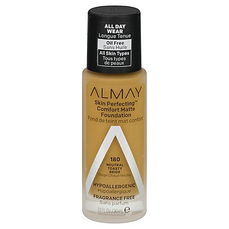 Almay Skin Perfecting Foundation Comfort Matte Neutral Toasty Beige - 1 Fl. Oz.