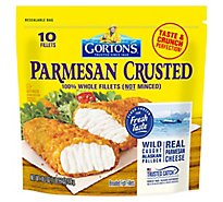 Gortons Fish Fillets Breaded Parmesan Crusted - 18.2 Oz