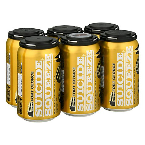 Fort George Suicide Squeeze Ipa In Cans - 6-12 Fl. Oz.