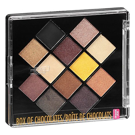 Black Eye Appeal Shdw Plt Box O Choc - 0.264 Oz