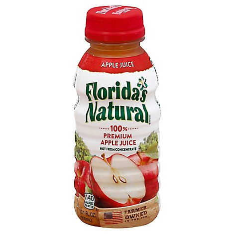 Floridas Natural 100% Juice Premium Apple - 10.1 Fl. Oz.