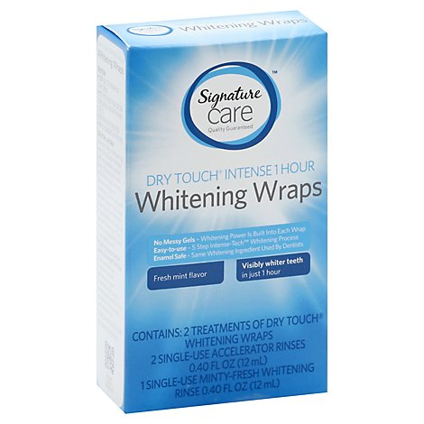 Signature Care Teeth Whitening Wraps 1 Hour - Each