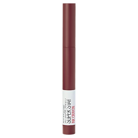 Maybelline Super Stay Lip Crayon Live On The Edge - 0.04 Oz