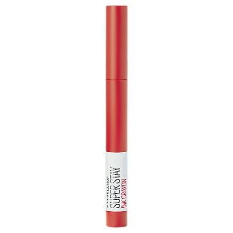 Maybelline Super Stay Lip Crayon Laugh Louder - 0.04 Oz