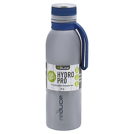 Reduce Hydro Pro Tumbler Vacuum Insulated 20 Ounce Grey - Each