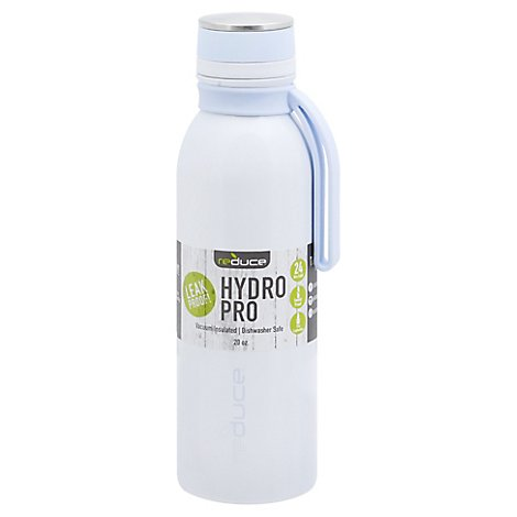 Reduce Hydro Pro Tumbler Vacuum Insulated 20 Ounce White - Each