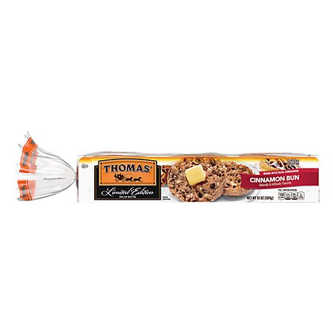 Thomas Ltd Ed Cinnamon Bun English Muffins 6ct - 13 Oz