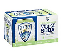 Canteen Cucumbermint Vodka Soda - 6-12 Fl. Oz.