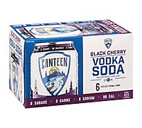 Canteen Black Cherry Vodka - 6-12 Fl. Oz.