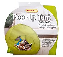 Ruffin It Pop Up Tent For Cats - Each