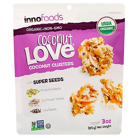 Coconut Love Trail Mx Ccnut And Seed - 3 Oz