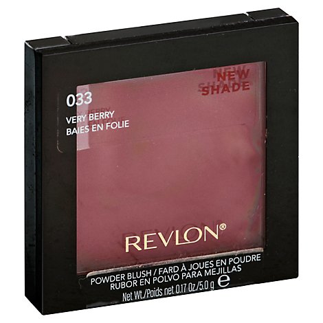 Revlon Powder Blush Very Berry - 0.17 Oz