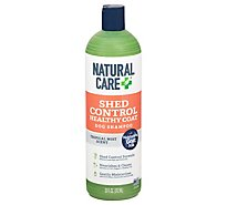 Natural Care Shed Control Dog Shampoo Healthy Coat Tropical Mist Scent - 20 Fl. Oz.