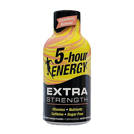 5-hour ENERGY Shot Extra Strength Strawberry Banana - 1.93 Fl. Oz.