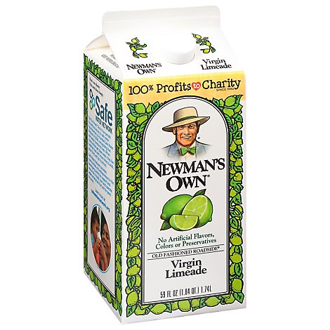 Newmans Own Virgin Limeade Old Fashioned Roadside - 59 Fl. Oz.