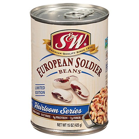 S&W Heirloom Series Beans European Soldier - 15 Oz