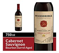Woodbridge by Robert Mondavi Wine Red Cabernet Sauvignon Bourbon Barrel Aged - 750 Ml