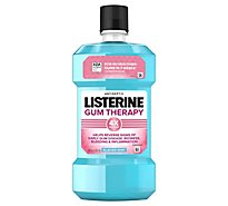 Listerine Gum Therapy Antiseptic Mouthwash - 16.9 Fl. Oz.