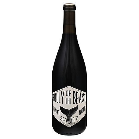 Folly of the Beast Wine Pinot Noir - 750 Ml