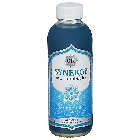 Gts Kombucha Enlightened Sacred Life - 16 Fl. Oz.