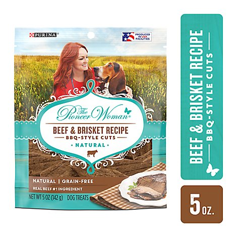 The Pioneer Woman Dog Treats Beef & Brisket Recipe - 5 Oz