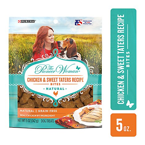 The Pioneer Woman Dog Treats Chicken & Sweet Taters Recipe - 5 Oz