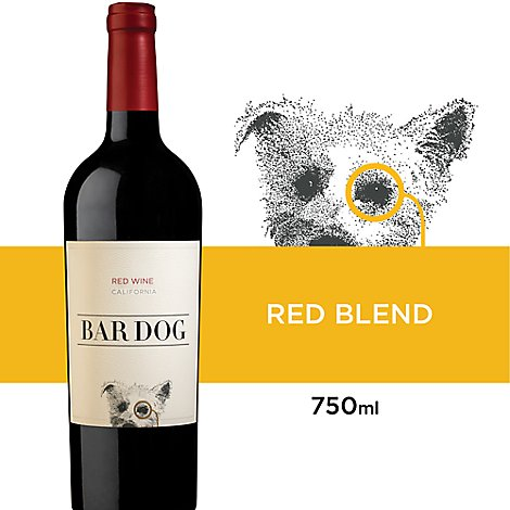 Bar Dog Red Blend Wine - 750 Ml