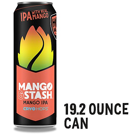 Hop Valley Mango & Stash Ipa In Cans - 19.2 Fl. Oz.