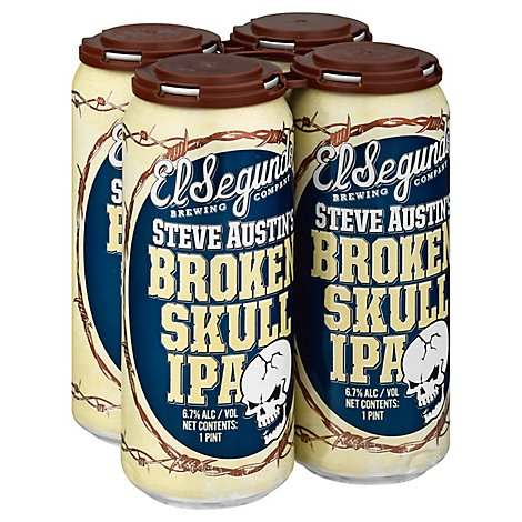 El Segundo Brewing Co Broken Skull Ipa In Cans - 4-16 Fl. Oz.