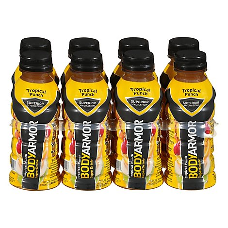 Body Armor Sports Drink Tropical Punch 8pks - 96 Fl. Oz.